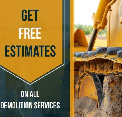 Demolition services CTA button - Big Easy Demolition