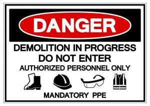 Demolition Safety Hazzard