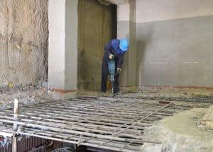 interior demolition in Kenner