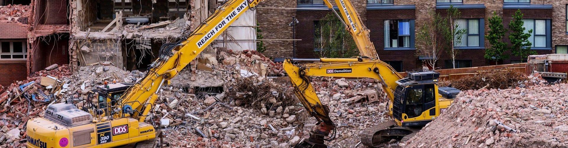 building demolition project