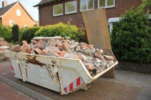 Concrete patio removal after demolishing - Big Easy Demolition