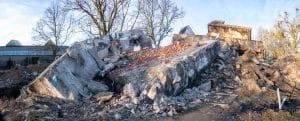 Destroyed building - Big Easy Demotion