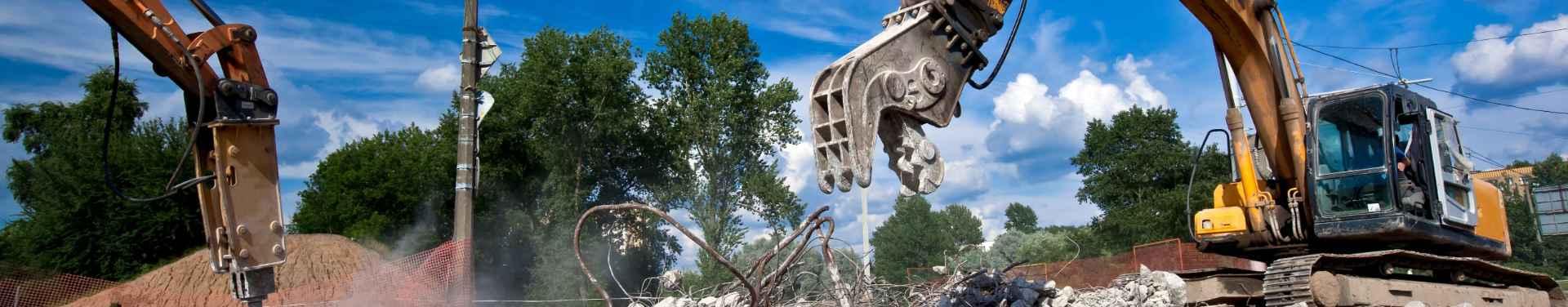 Demolition Equipment - Big Easy Demolition