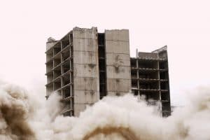 Demolition controlled implosion- BIgEasy Demolition.com